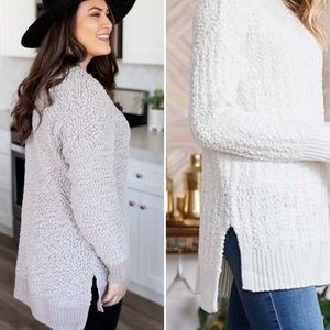 Sweaters - New! Gorgeous cozy long grey sweater
